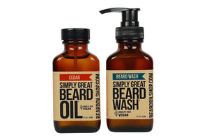 Beard Oil & Beard Wash Combo