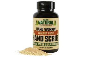 Sam's Natural Walnut Hand Scrub