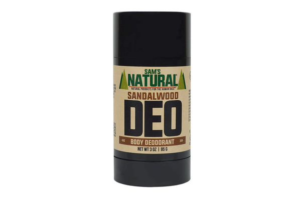 Sandalwood Natural Deodorant by Sam's Natural
