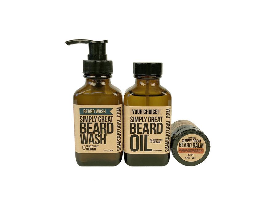 Simply Great Gift Set - Your Choice Beard Oil
