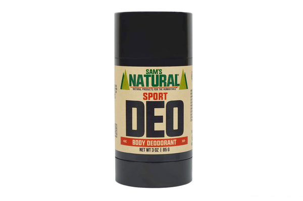 Sport Natural Deodorant by Sam's Natural