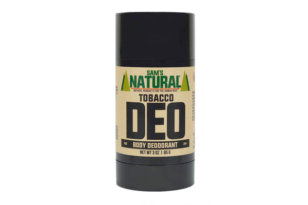 Tobacco Natural Deodorant by Sam's Natural