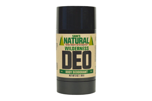 Wilderness Natural Deodorant by Sam's Natural