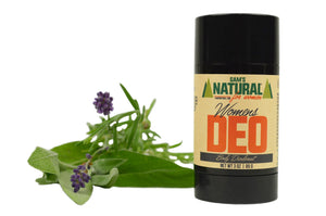 Aluminum Free, Chemical Free Women's Natural Deodorant