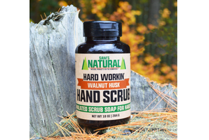 Hard Workin' Walnut Hand Scrub