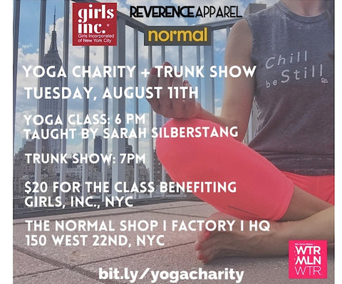 Yoga Charity Trunk Show
