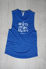 AS FREE AS THE OCEAN DYLAN MUSCLE TANK REVERENCE APPAREL