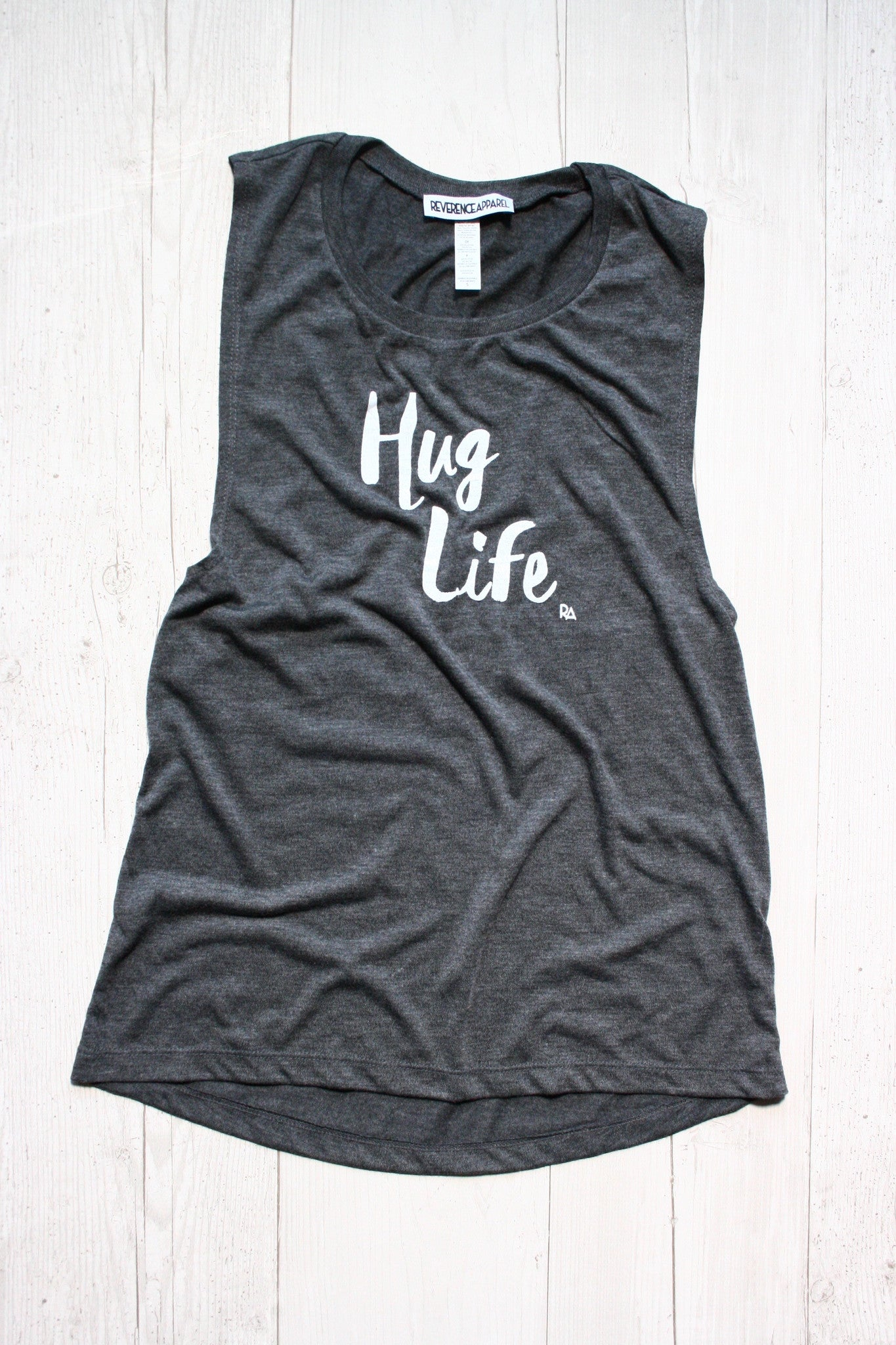 HUG LIFE DYLAN MUSCLE GRAPHIC TANK, , Tank, Reverence Apparel, Reverence Apparel   - 1