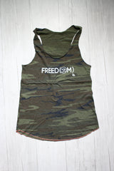 FREED(OM) CAMO RACERBACK TANK REVERENCE APPAREL