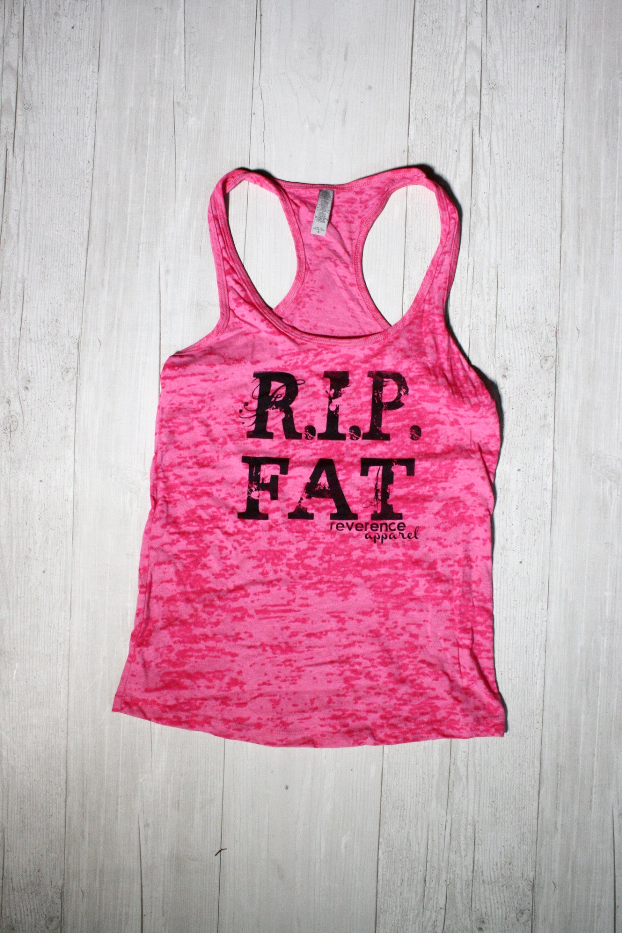 RIP FAT RACERBACK BURNOUT TANK