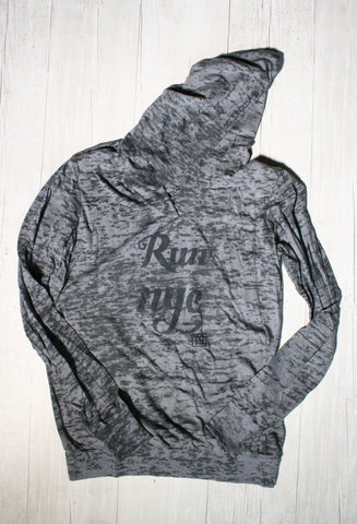 RUN NYC BURNOUT HOODIE