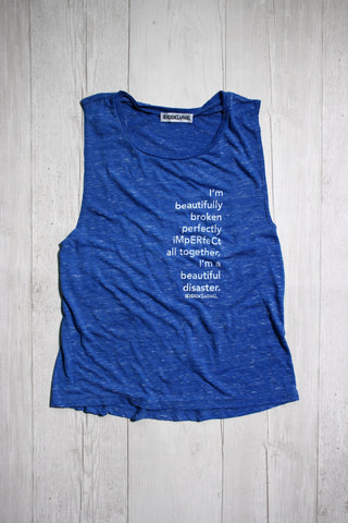 PACKING A PUNCH DYLAN MUSCLE TANK