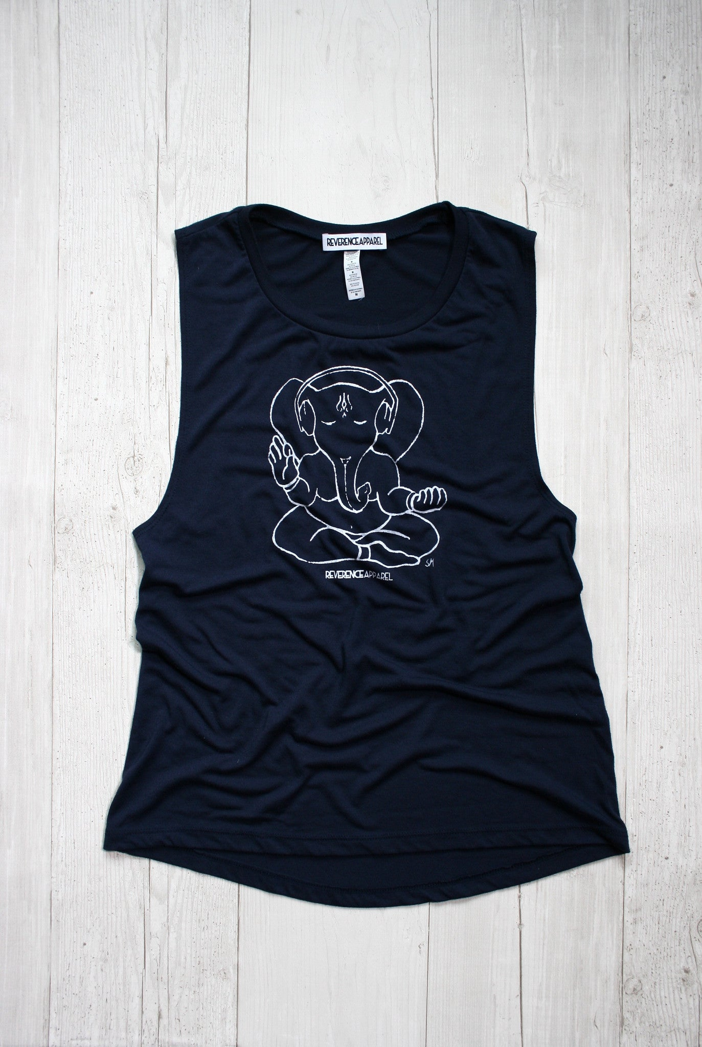 In Tune Ganesh Muscle Tank, , Tank, Reverence Apparel, Reverence Apparel   - 1