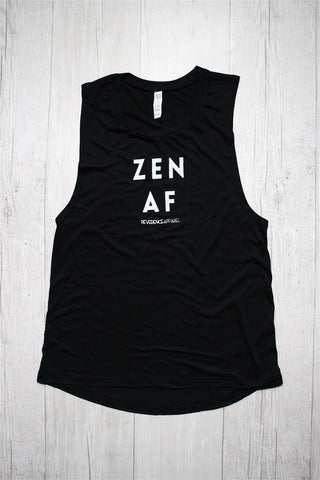 ZEN AF MUSCLE GRAPHIC TEE REVERENCE APPAREL