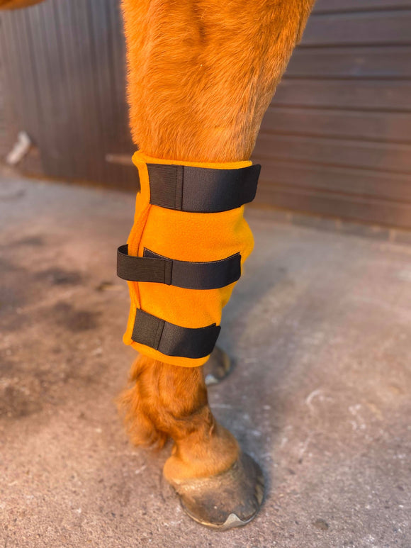 Fleece Knee Boots - Cob / Full / Heavy Horse