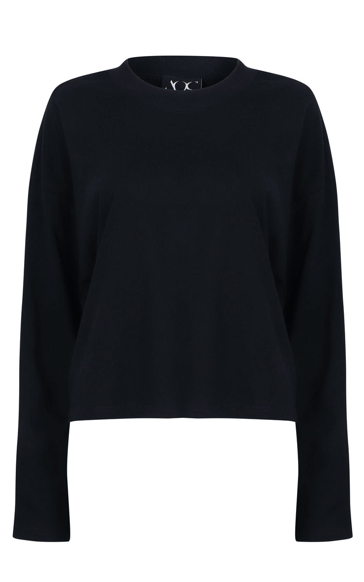 Absence of Colour Cissy Black Top