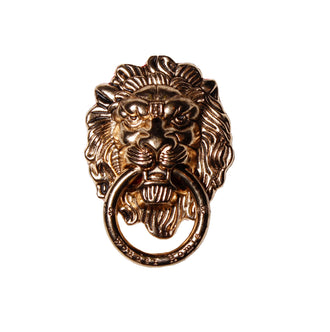 Lion Knocker Phone Ring