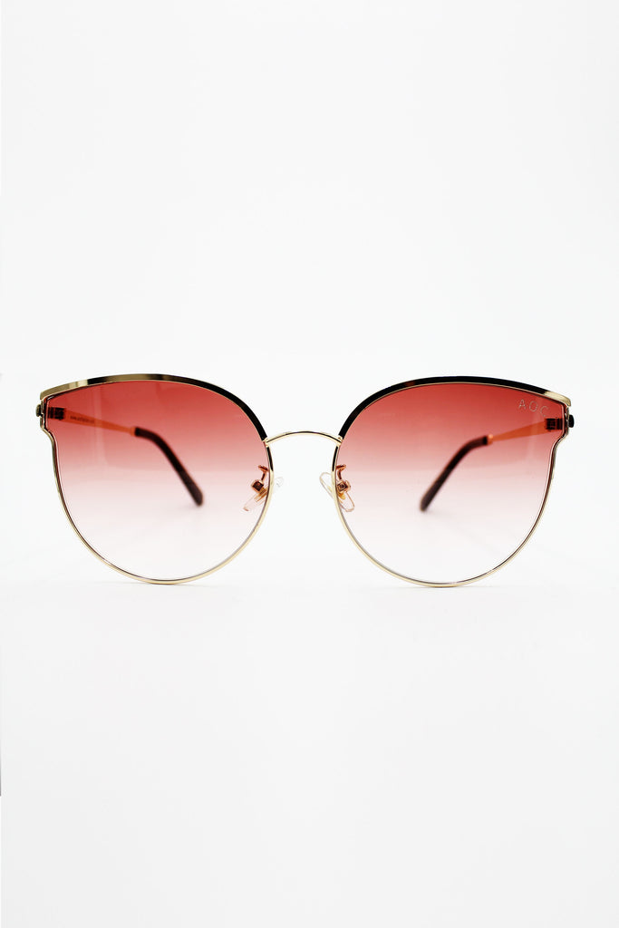 bff138664b84d Rose Tinted Round Sunglasses – ABSENCE OF COLOUR