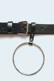 Hoop Detail Thin Belt
