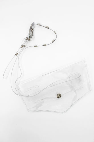 Clear Envelope Belt Bag