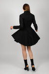 Black Addie Dress