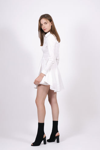 White Addie Dress