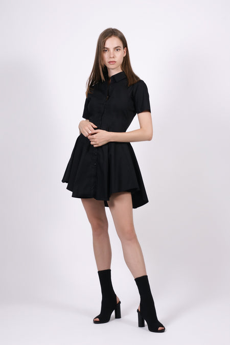Liz Shoulder Pad Dress