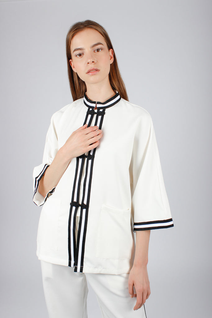 Absence of Colour White Bess Top