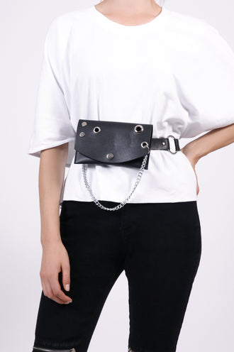 Belt Bag with Chain