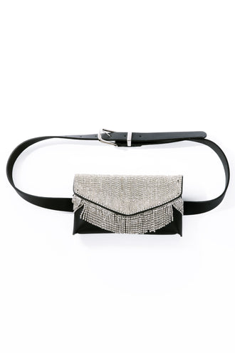 Diamante Belt Bag