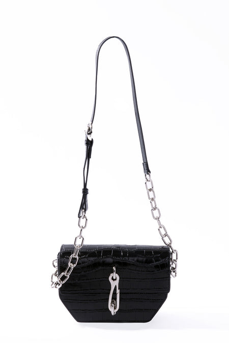Long Chain Two Way Belt Bag