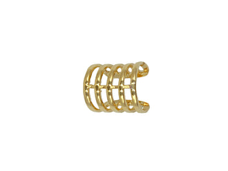 Gold 5 Band Ear Cuff