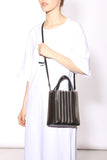 Pleated Mini Tote