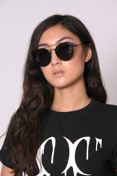 Cat Eye Aviator Sunglasses