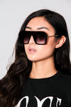 Oversized Ombre Square Sunglasses