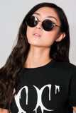 Matte Circle Sunglasses