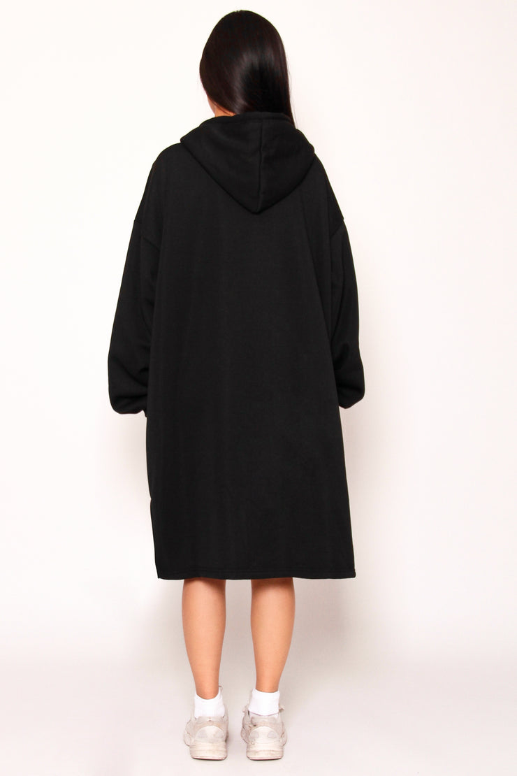 Kuben Long Hoodie Dress