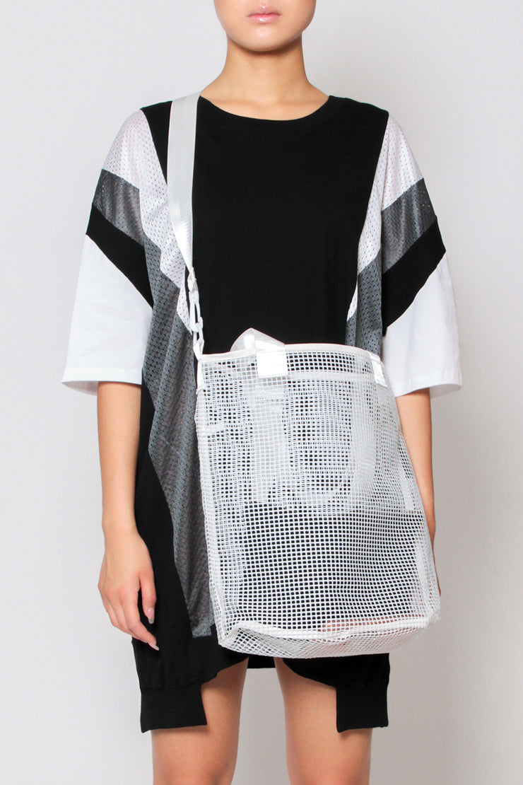 Large Mesh Shopper Bag