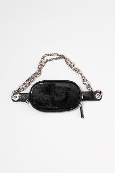 Two-Way Patent Chain Belt Bag