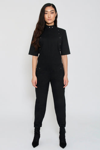 Una High Neck Jumpsuit