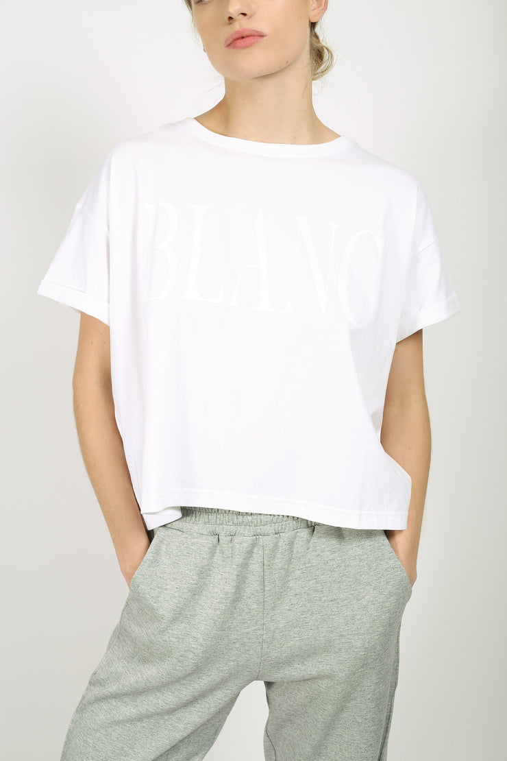 YO Blanc Crop Top
