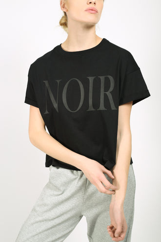 YO Noir Crop Top