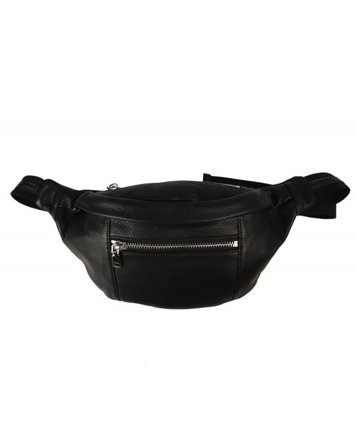 Plain Leather Bum Bag