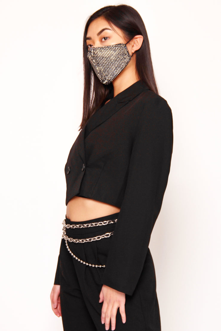 Diamond Fashion Mask