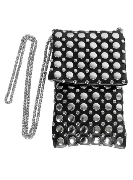 Black Chrystal Envelope Bag