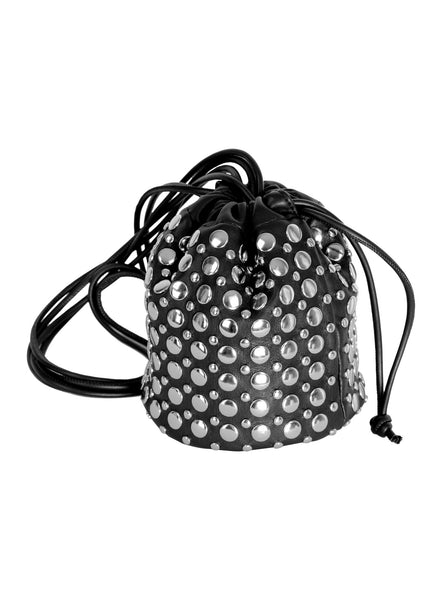 Small Studded Bucket Bag