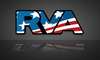 American Flag RVA Sticker | RichmondStickers.com