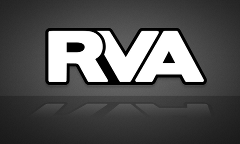 Black & White Classic RVA Sticker - RichmondStickers.com - FREE SHIPPING