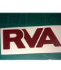 Burgundy RVA sticker