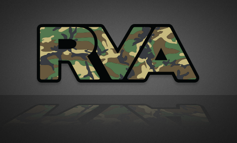 Camouflage RVA Sticker | RichmondStickers.com